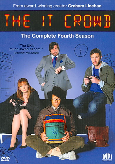 IT CROWD:COMPLETE SEASON 4 BY IT CROWD (DVD)