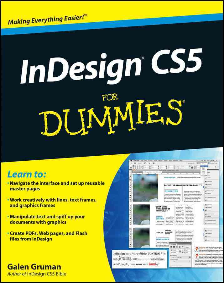 InDesign CS5 for Dummies By Gruman, Galen